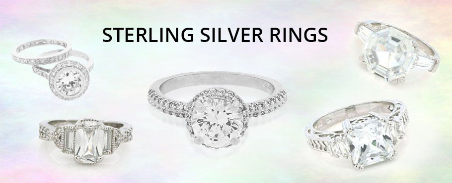 sterling silver rigns