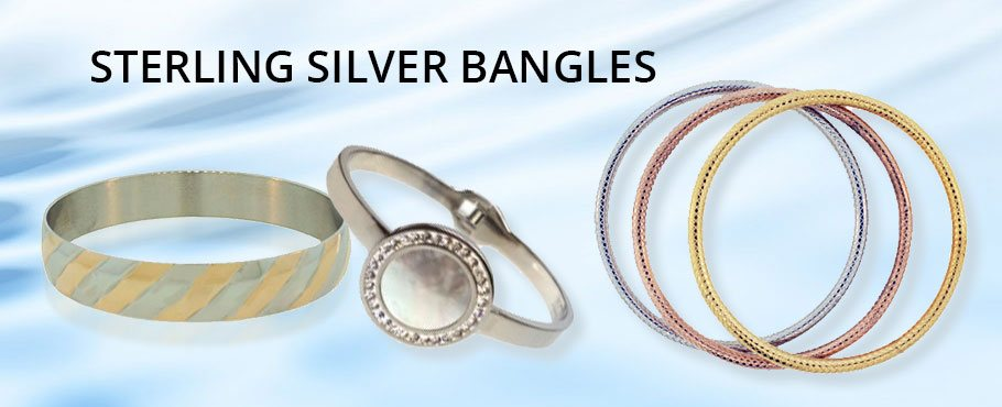 Sterling Silver Bangles Wholesale