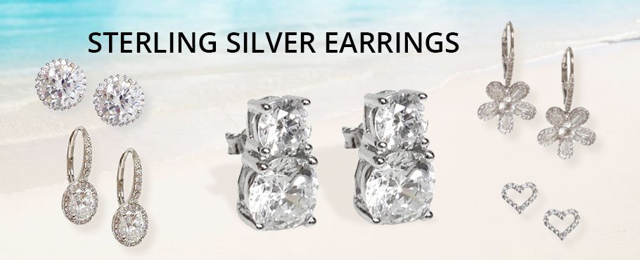 Sterling Silver Earrings Wholesale