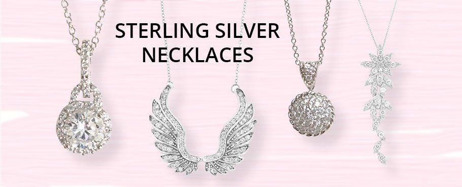 Sterling Silver Necklaces Wholesale