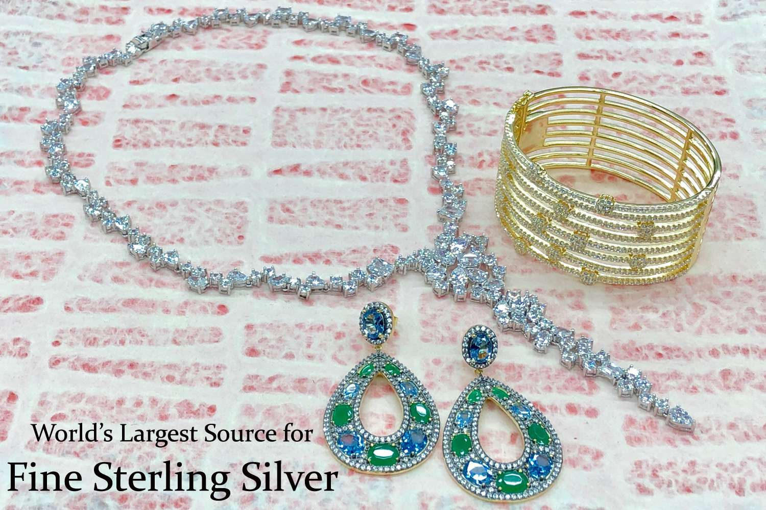 jewelry avenue showroom suppliers blue alibaba crystal jewellery new wholesale